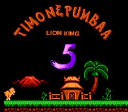 Król lew V: Timon i Pumba
