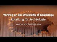Vortrag an der University of Cambridge