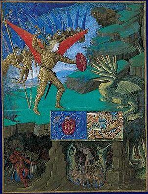 330px-Saint Michel combattant le dragon.jpg