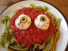 Creepy Pasta with a Side of Sauce