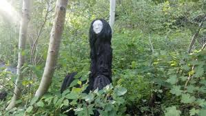 The Black Lady of Bradley Woods