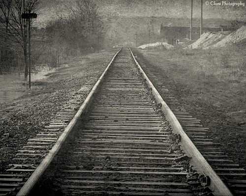 The Wanderer on the Tracks