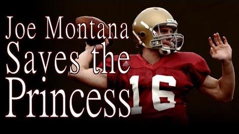 """Joe Montana Saves the Princess"" by K"