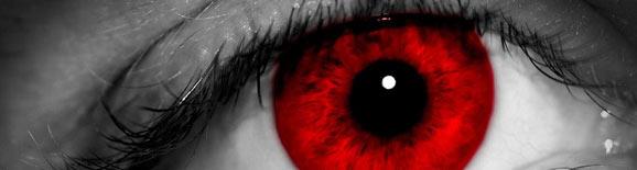 Esos ojos rojos