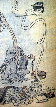 At-night-the-rokurokubi-and- 39 s-neck-stretches-and-the-head-go-exploring-photo-u1.jpg