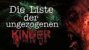 """Creepypasta """"Die Liste der ungezogenen Kinder"""" German Deutsch"""