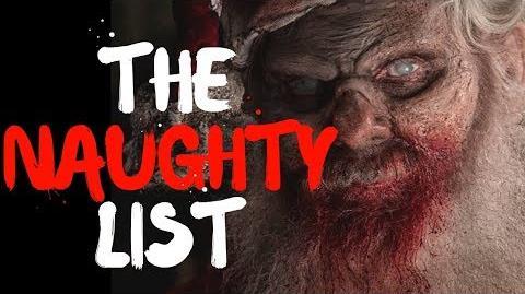 """""""The Naughty List"""" Christmas Story"""