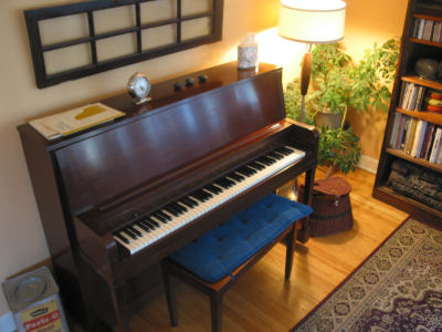 The Piano and the House