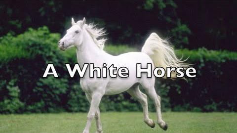 """A White Horse"" (The Creeper)"