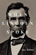 When Lincoln Spoke Cover - Front Only
