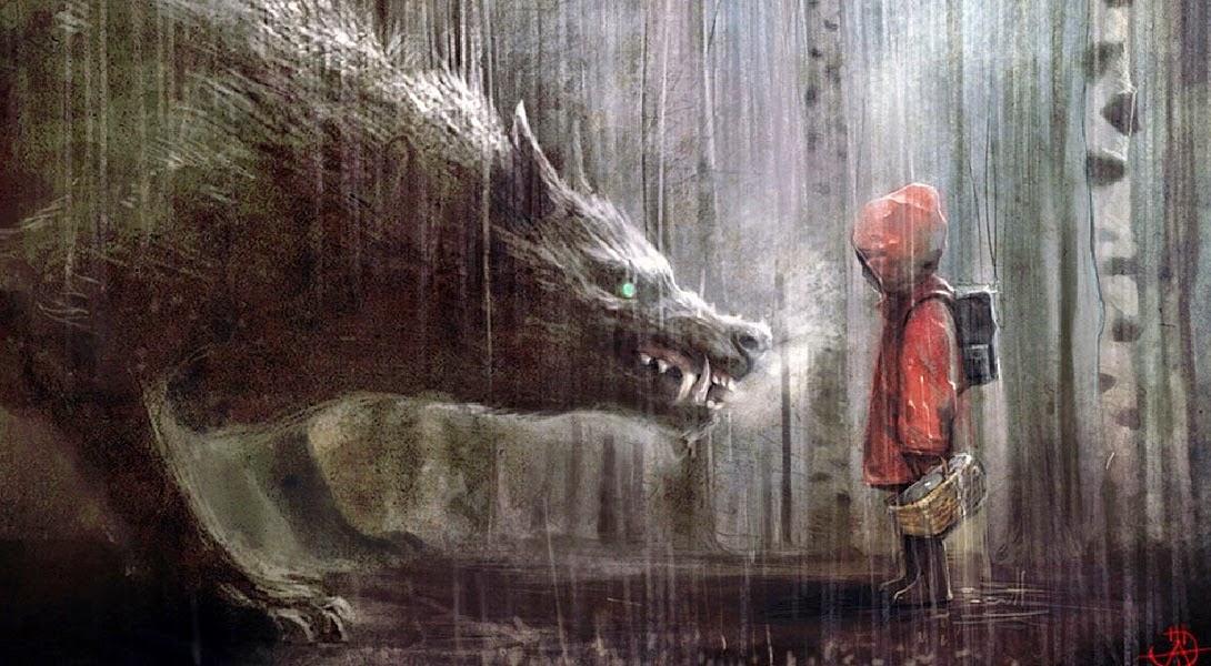El Lobo y Caperucita
