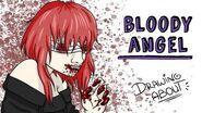 BLOODY ANGEL Draw My Life Creepypasta Dark Wood Circus