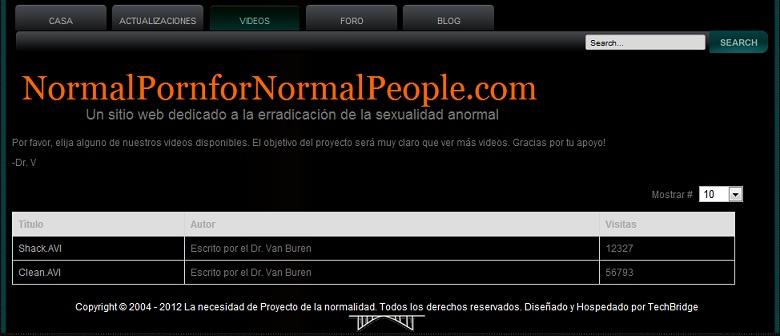 Porno normal para gente normal