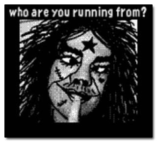 Przed kim tak uciekasz?