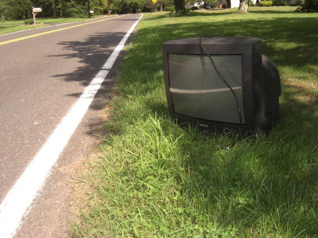 The Abandoned Television