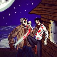 Jason Voorhes vs Jeff the jiller