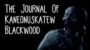 """""""The Journal of Kaneonuskatew Blackwood"""" by EmpyrealInvective (Narrated by NaturesTemper)"""