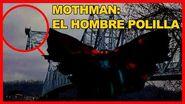 La criatura MOTHMAN La historia del HOMBRE POLILLA 👤🦟