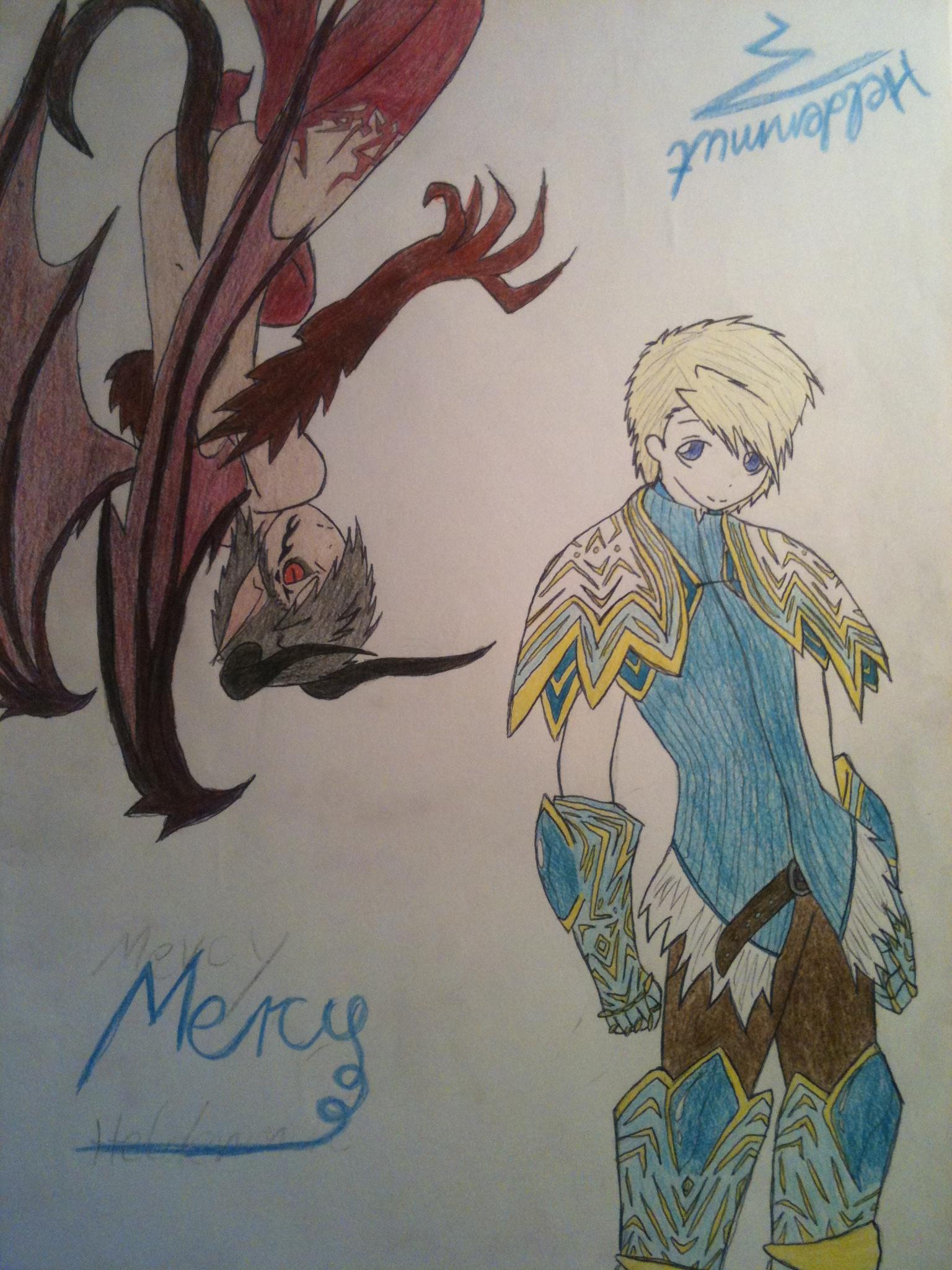 Apostel Nr.2 Mercy der Heldenmütige