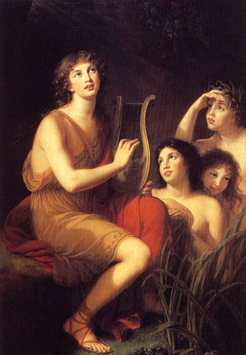 The Man and His Ancient Lyre