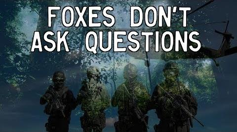 """Foxes Don't Ask Questions"""