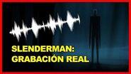 EL AUDIO MÁS TERRORÍFICO DE SLENDERMAN 🎙🎙 GRABACIÓN (1989) HECHOS REALES