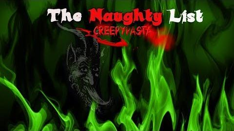 """""""The Naughty List"""" Creepypasta Wikia Creepy Story"""