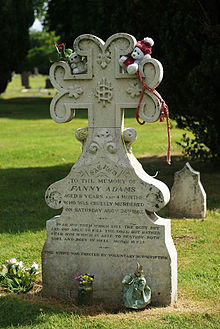 The Butchering of Sweet Fanny Adams