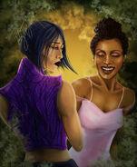 Juniper and Fury by Pallasillustration