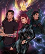 Bryce,Hunt, Ruhn & Lehabah By Jemlin Creations