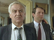 Inspector Endeavour Morse with Sergeant Robbie Lewis
