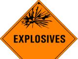 HAZMAT Class 1 Explosives