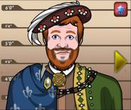 Henry VIII mugshot
