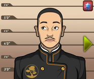 Emperor Hirohito mugshot