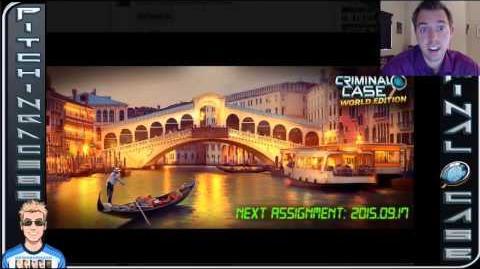 Criminal Case World - Case 5 - Italy + Rome + Venice???
