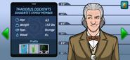 Thaddeus Dockents suspect complete