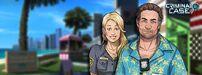 Criminal Case Amy y Frank en una foto de portada