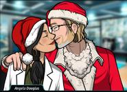 Angela&LarsKissing
