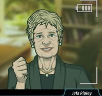 Ripley llorando