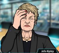 Ripley sintiendo desesperanza