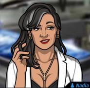 Nadia-TwirlingHerHair
