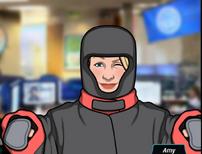 92 Amy Vestida con armadura pesada