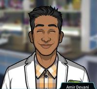 Amir Sonriendo
