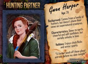 Gwen Harper Profil