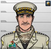 Coronel Spangler en Muerte de Cristal