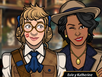 Evie y Katherine