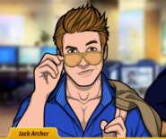JackArcherpullinghisglassesdown