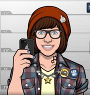 Becky, como apareció en Chica Muerta Rodando