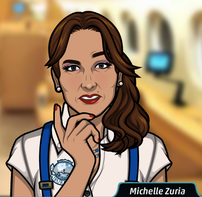 Michelle pensando 3