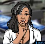Nadia-Grinning